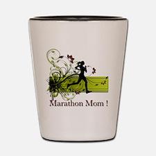 Marathon Mom Shot Glass