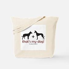 Australian Kelpie/Pharaoh Hou Tote Bag