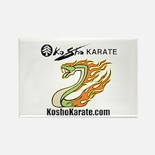 "KoSho Karate ""Snake"" Rectangle Magnet"