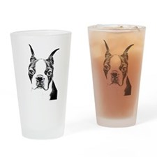 BOSTON TERRIER - DOG Drinking Glass