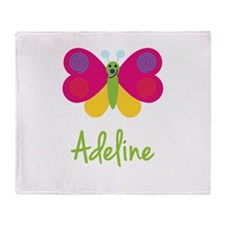 Adeline The Butterfly Throw Blanket