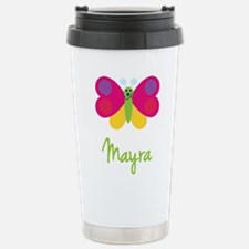 Mayra The Butterfly Travel Mug