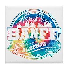 Banff Old Circle Tile Coaster