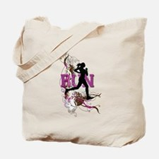 Run - Running Girl Tote Bag
