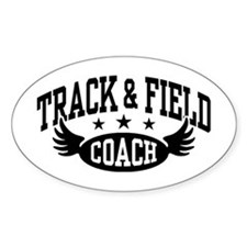 Track & Field Coach Decal