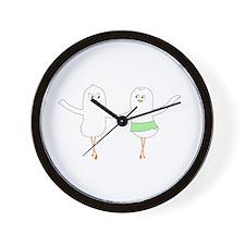 Cha-Cha-Cha Wall Clock