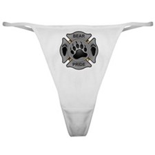 Bear Pride Firefighter Badge Classic Thong