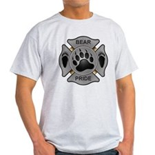 Bear Pride Firefighter Badge T-Shirt