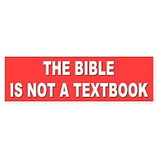 not a textbook... Bumper Bumper Bumper Sticker