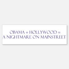 Obama Nightmare Bumper Bumper Sticker