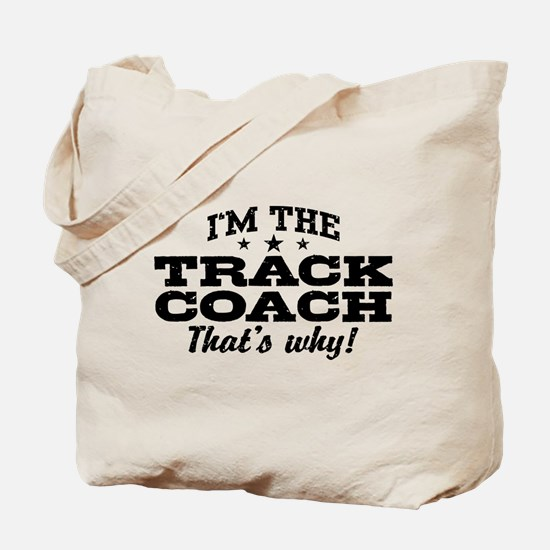 Funny Track Coach Tote Bag