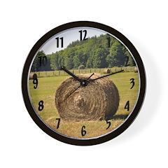 Harvest Wall Clock