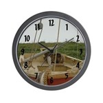 Fortress of Louisbourg Boat Wall Clock
