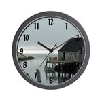 Peggy's Cove Dock Wall Clock