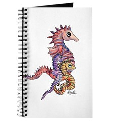 Seahorse Family of 3 Journal