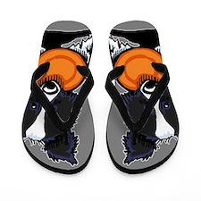 Border Collie Flip Flops