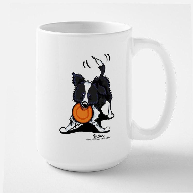 Border Collie Large Mug