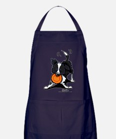 Border Collie Apron (dark)
