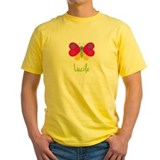 Butterfly lucile Mens Yellow T-shirts