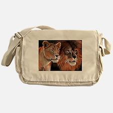 Beauty and her Beast, Messenger Bag