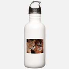 Beauty and her Beast, Sports Water Bottle