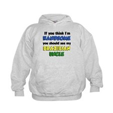 Think I'm Handsome Brazilian Hoodie