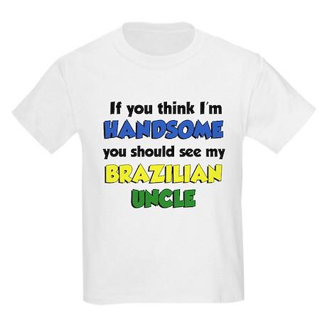 Think I'm Handsome Brazilian Kids Light T-Shirt