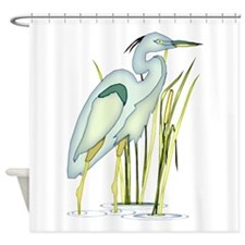 Heron Shower Curtain