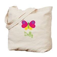 Dolly The Butterfly Tote Bag