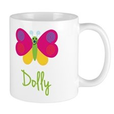 Dolly The Butterfly Small Mugs
