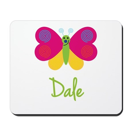 Dale The Butterfly Mousepad