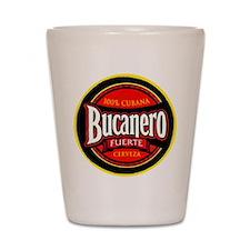 Cuba Beer Label 5 Shot Glass