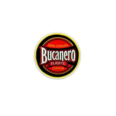Cuba Beer Label 5 Mini Button (10 pack)