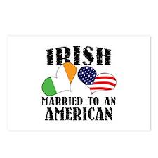 Irish Married American Postcards (Package of 8)