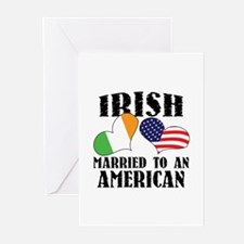 Irish Married American Greeting Cards (Pk of 10)