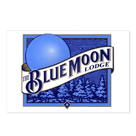 Blue Moon Lodge Postcards (Package of 8)