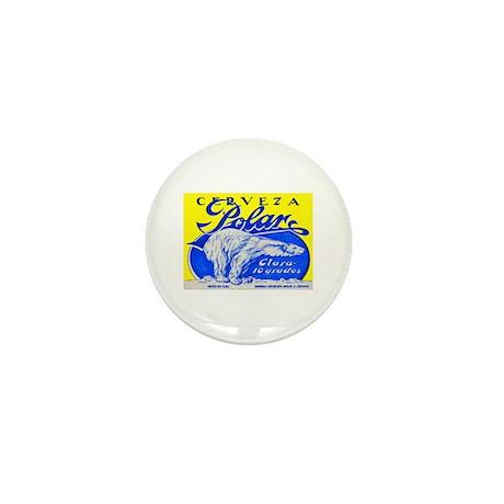Cuba Beer Label 2 Mini Button (10 pack)