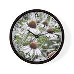 Flower Frost Wall Clock