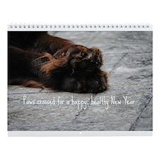 My Brown Newfies & Friends 2013 Wall Calendar