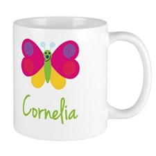 Cornelia The Butterfly Small Mugs