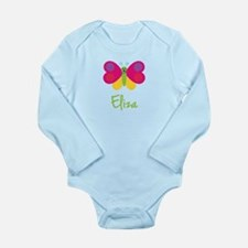 Eliza The Butterfly Long Sleeve Infant Bodysuit