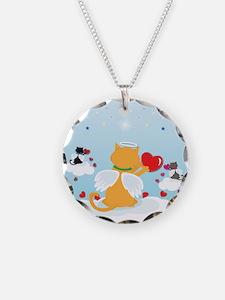 Angel Kitties Necklace