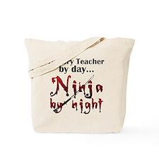 History Teacher Ninja Tote Bag