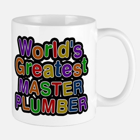 Worlds Greatest MASTER PLUMBER Mugs
