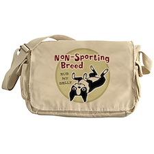 Boston Terrier Nonsporting Messenger Bag