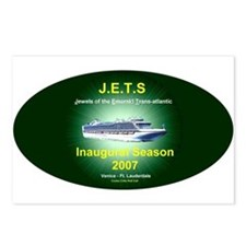 JETS EMERALD TA 2007 Postcards (Package of 8)
