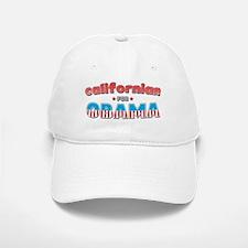 Californian For Obama Baseball Baseball Cap