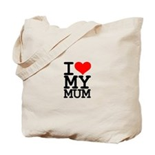 Valentines Day I LOVE MY MUM Tote Bag