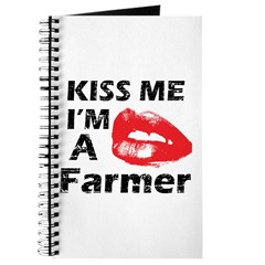 Kiss me I'm a Farmer Journal