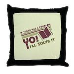 Yo! I'll Solve It Throw Pillow